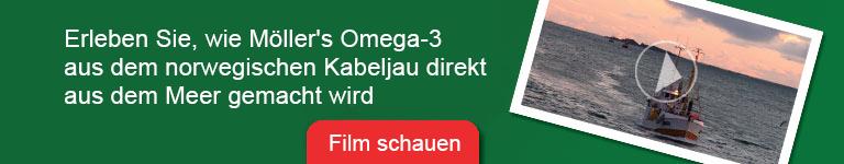 Möllers Omega-3 Banner zum Film über Herstellung