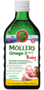 Produktbild Möller's Omega-3 Lebertran für Babies