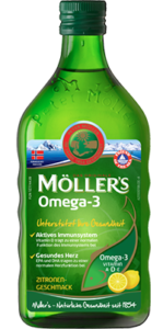 Produktbild Möller's Omega-3 Zitrone Lebertran